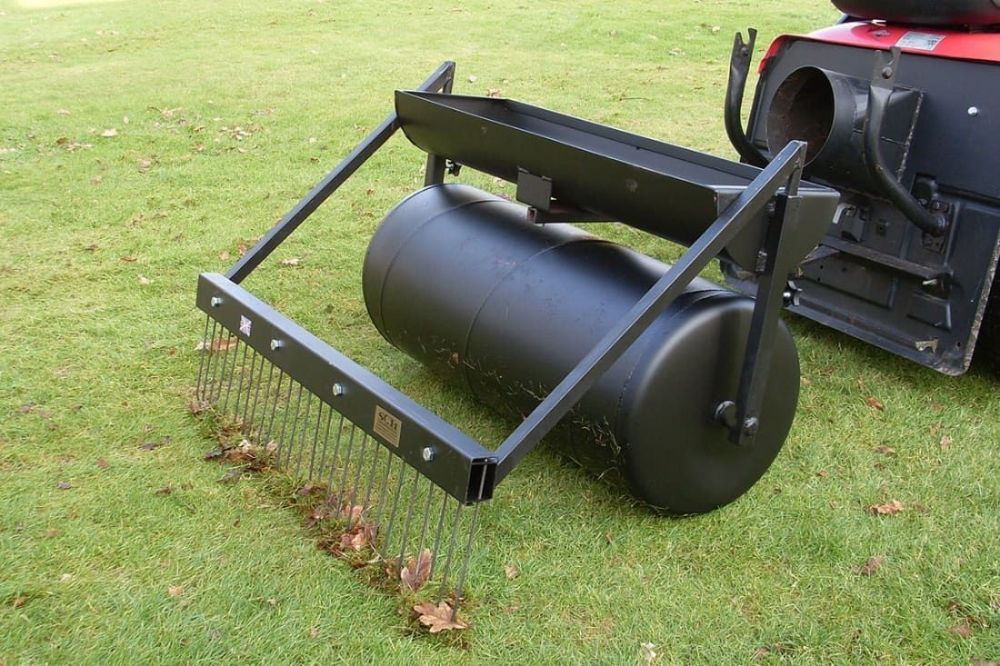 "Moss Rake Attachment | 36"" Towed Lawn Care System"